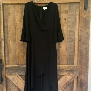 Very pretty black high low dress size medium
